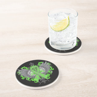 Muscular Dystrophy Awareness Wings Coasters