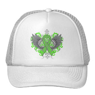 Muscular Dystrophy Awareness Wings Mesh Hats