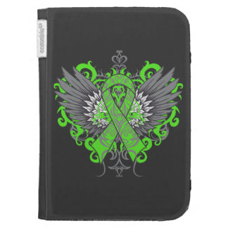 Muscular Dystrophy Awareness Wings Kindle Cover