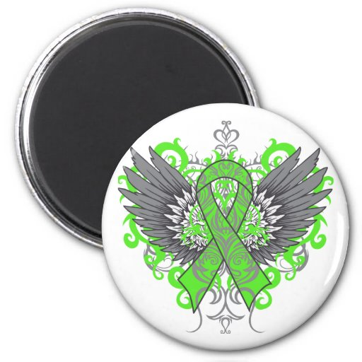 Muscular Dystrophy Awareness Wings Magnet