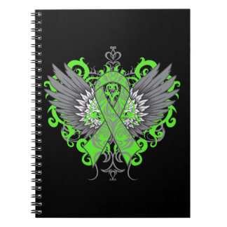 Muscular Dystrophy Awareness Wings Note Books