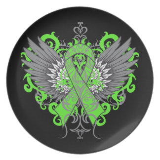 Muscular Dystrophy Awareness Wings Party Plate