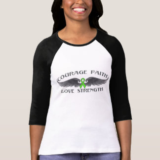 Muscular Dystrophy Courage Faith Wings Tees
