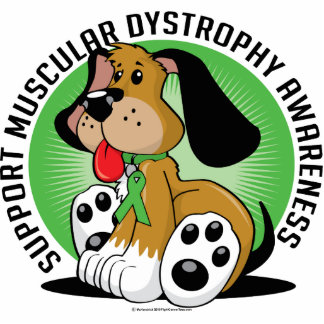 Muscular Dystrophy Dog Photo Sculpture
