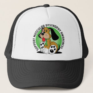 Muscular Dystrophy Dog Trucker Hat