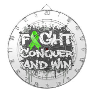 Muscular Dystrophy Fight Conquer and Win Dartboards