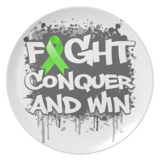 Muscular Dystrophy Fight Conquer and Win Plate
