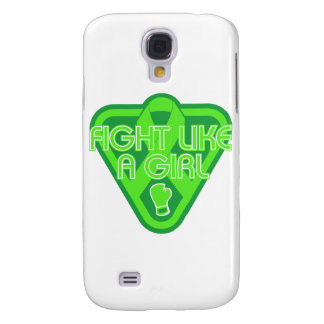 Muscular Dystrophy Fight Like A Girl Glove Samsung Galaxy S4 Case