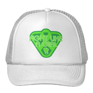 Muscular Dystrophy Fight Like A Girl Glove Mesh Hats