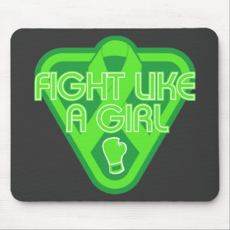 Muscular Dystrophy Fight Like A Girl Glove Mouse Pads