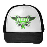 Muscular Dystrophy Fight Like a Girl Wings.png Trucker Hat