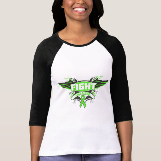 Muscular Dystrophy Fight Like a Girl Wings.png Tshirt