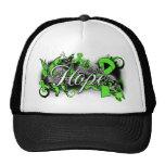 Muscular Dystrophy Hope Garden Ribbon Mesh Hats