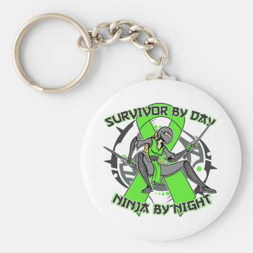Muscular Dystrophy Survivor By Day Ninja By Night Keychain