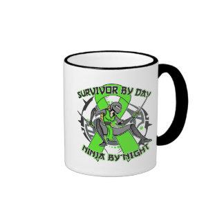 Muscular Dystrophy Survivor By Day Ninja By Night Coffee Mug