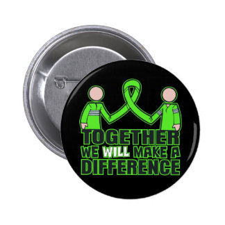 Muscular Dystrophy Together We Will Make A Differe Pinback Button
