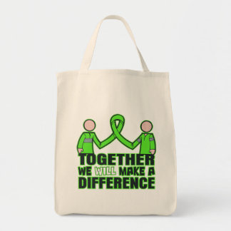 Muscular Dystrophy Together We Will Make A Differe Canvas Bags