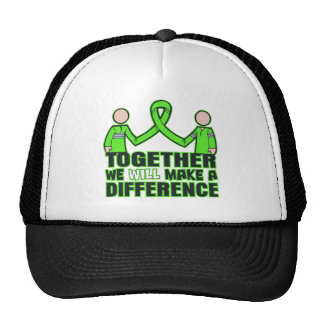 Muscular Dystrophy Together We Will Make A Differe Trucker Hat