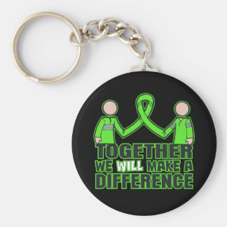 Muscular Dystrophy Together We Will Make A Differe Basic Round Button Key Ring