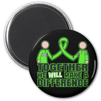 Muscular Dystrophy Together We Will Make A Differe 6 Cm Round Magnet