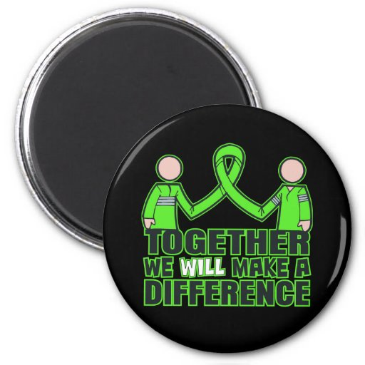 Muscular Dystrophy Together We Will Make A Differe Fridge Magnets