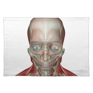 Musculoskeleton of the Head and Neck 7 Placemats