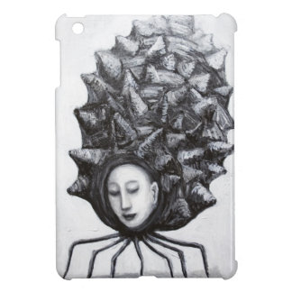 Muse in a shell surrealism cover for the iPad mini