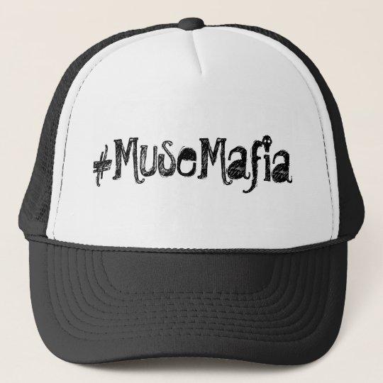 Muse Mafia Trucker Hat (w/ skull font)
