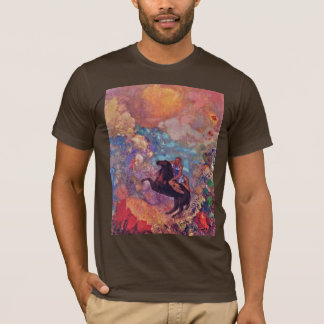 Muse On Pegasus By Redon Odilon (Best Quality) T-Shirt