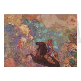 Muse On Pegasus Card