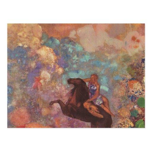Muse On Pegasus Postcards