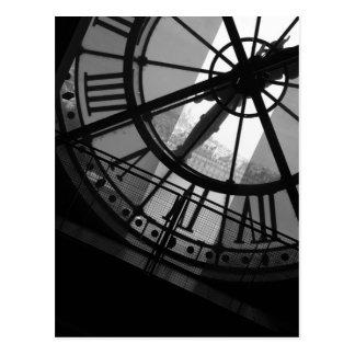 Musee d Orsay Clock Postcard
