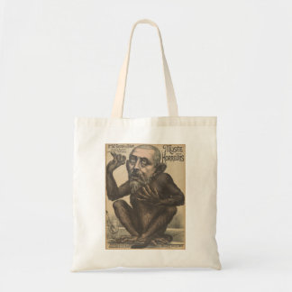 Musee Des Horreurs Creepy French Vintage Poster Budget Tote Bag