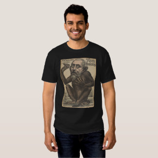 Musee Des Horreurs Creepy French Vintage Poster T Shirt
