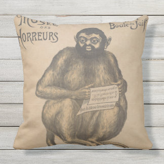 Musee Des Horreurs Rodent Man Vintage Cushions