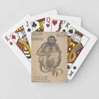 Musee Des Horreurs Rodent Man Vintage Deck Of Cards