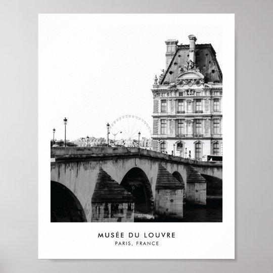Musée du Louvre Paris | Photography poster print