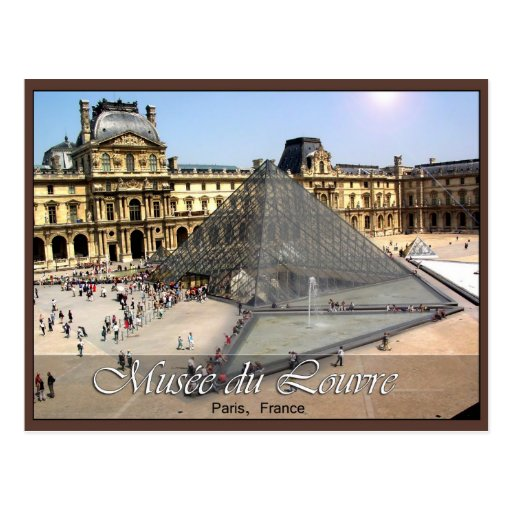 Musee du Louvre Post Cards