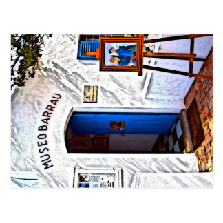 Museo Barrau, Ibiza Postcard