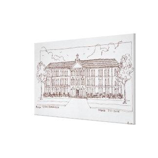 Museo Thyssen-Bornemisza | Madrid, Spain Canvas Print
