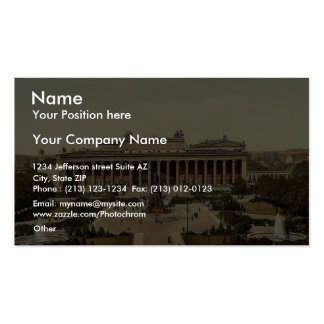 Museum, Berlin, Germany magnificent Photochrom Business Card Template