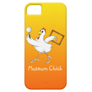 Museum Chick -iPhone Case Barely There iPhone 5 Case