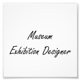 Museum Exhibition Designer Artistic Job Design Photograph