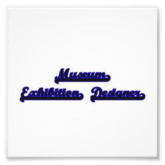 Museum Exhibition Designer Classic Job Design Photo Print