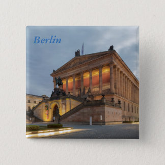Museum Island in Berlin 15 Cm Square Badge