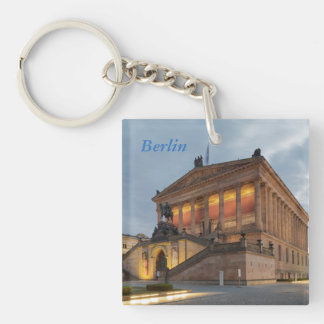 Museum Island in Berlin Key Ring