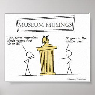 Museum Musings Poster