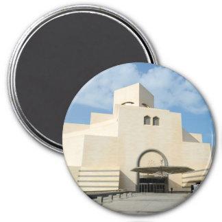 Museum of Islamic Arts, Qatar 7.5 Cm Round Magnet