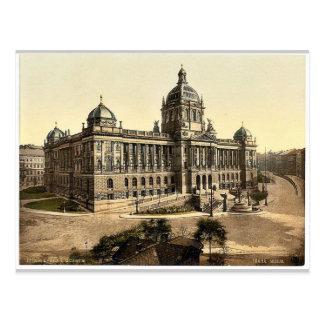 Museum, Prague, Bohemia, Austro-Hungary magnificen Postcards