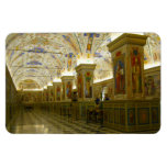 museum vatican rectangular magnet